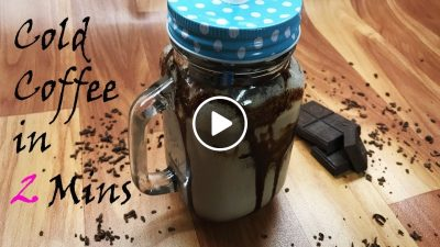 Chocolate Cold coffee recipe | Ice cold coffee milkshake | कोल्ड कॉफ़ी मिल्कशेक (in hindi)