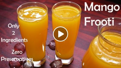 Mango frooti recipe in Hindi (Slice/Maaza) | How to make mango frooti at home (frutti)