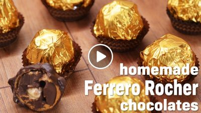 How to make Ferrero Rocher | Easy Homemade Ferrero Rocher Chocolate Recipe