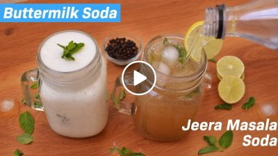 Jeera Masala Soda | Buttermilk Soda | Chhash soda छाछ सोडा | Homemade Nimbu Masala Soda Recipe
